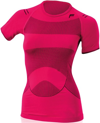 F-Lite Dames T-Shirt Megalight 140 Berry - Maat L