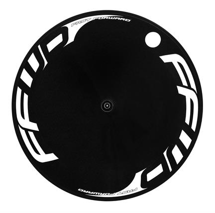 FFWD Achterwiel Disc Full Carbon Clincher 11V Shimano - Wit