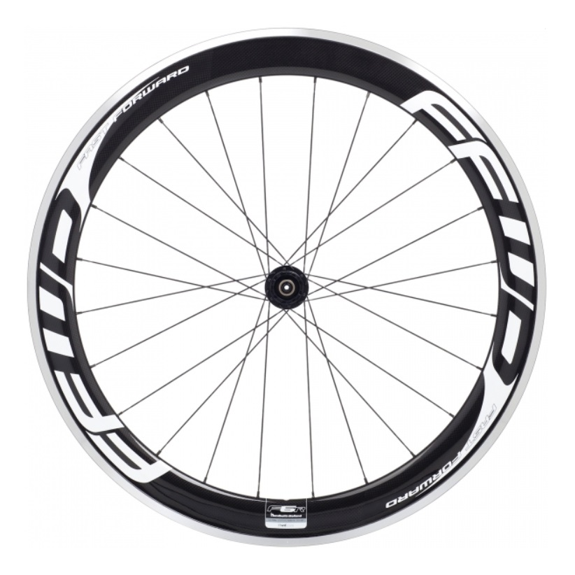 FFWD F6R Achterwiel Clincher 11V Campagnolo - Wit