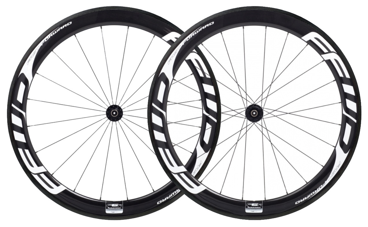FFWD F6R FCC Wielset Clincher DT240S CA 11V - Wit