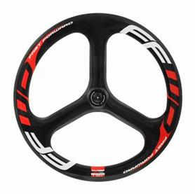 FFWD Voorwiel THREE Tubular Full Carbon 60mm Profiel