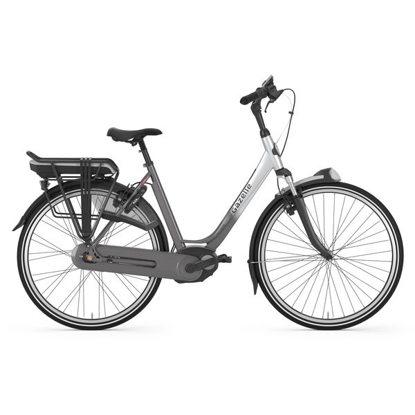 Gazelle Orange C7+ HMB Dames E-Bike 57cm 7V - Zwart/Zilver