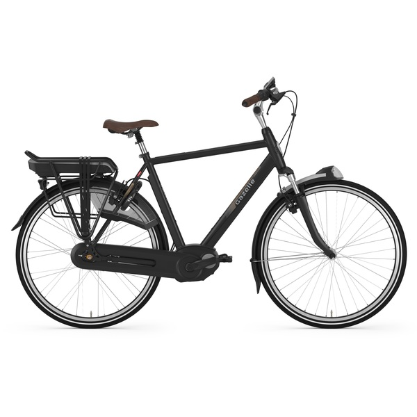 Gazelle Orange C7+ HMB Heren E-Bike 61cm 7V - Mat Zwart