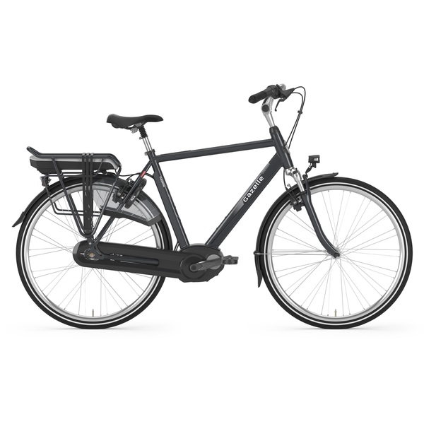 Gazelle Orange C7 HMB Heren E-Bike 61cm 7V - Panter zwart