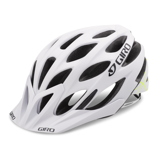 Giro Helm Phase MTB Mat Wit/Lime - Maat L 59-63cm