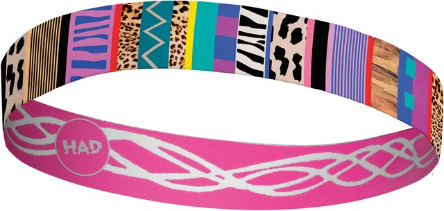 H.A.D. Hoofdband Flexband Multicolor - One Size