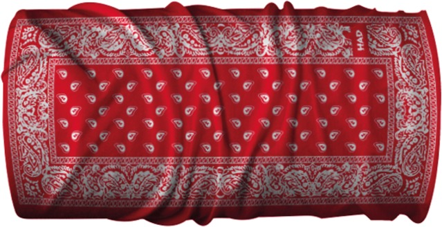 H.A.D. Multifunctie Doek Originals Outdoor Moto Tears Red
