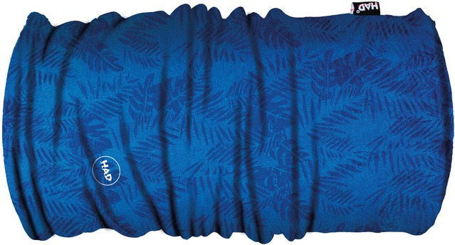 H.A.D. Multifunctie Doek Printed Fleece - Palm Blue