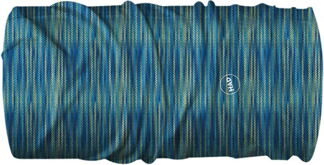 H.A.D. Multifunctie Doek Sun Protection Melange Blue