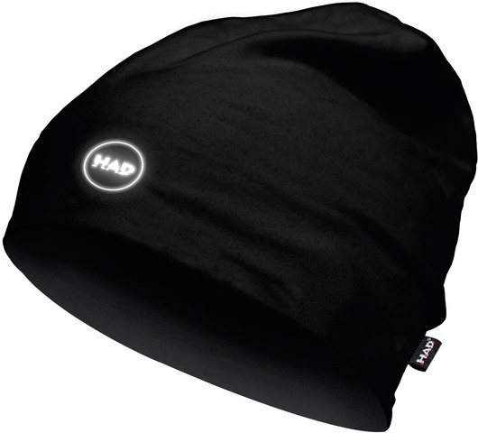 H.A.D. Printed Fleece Beanie Muts - Black Reflective
