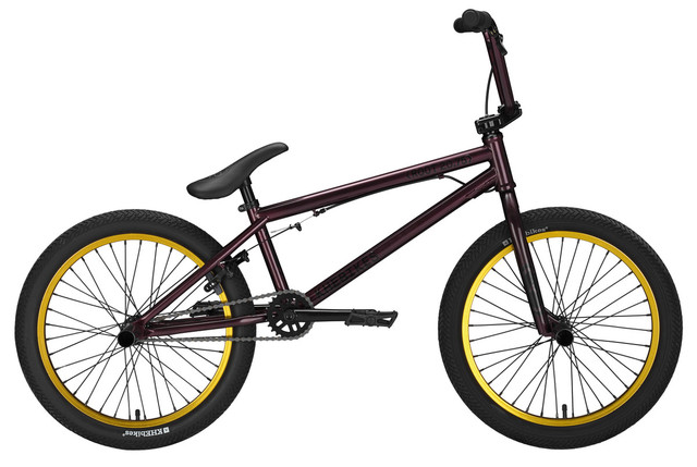 KHE Bikes BMX Root 20.75 20 Inch - Donkerpaars