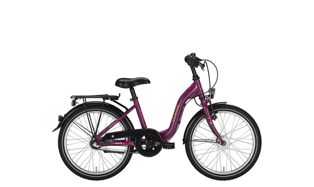 Noxon Girls ND Meisjesfiets 24 Inch 36cm 3V - Parel Violet