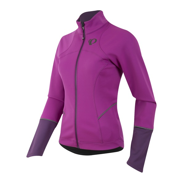Pearl Izumi Elite Escape Softshell Jersey Dames Paars - XL