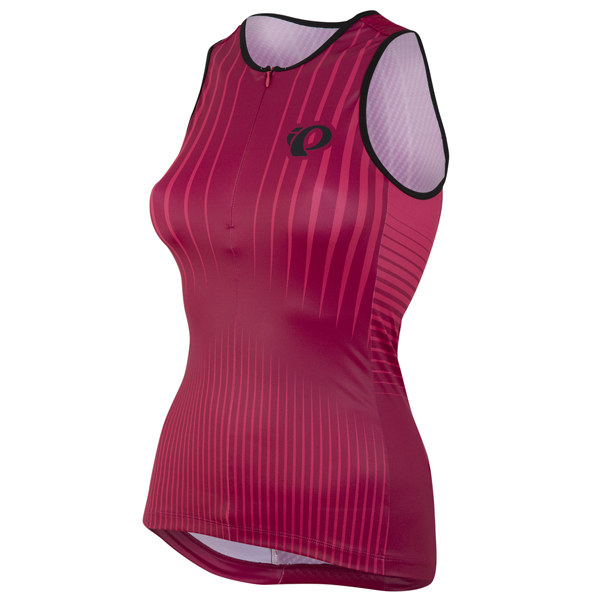 Pearl Izumi Elite In-R-Cool LTD Tri Shirt Dames Rood - S