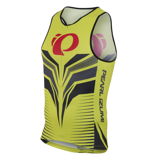 Pearl Izumi Elite In-R-Cool LTD Tri Singlet Groen - XL