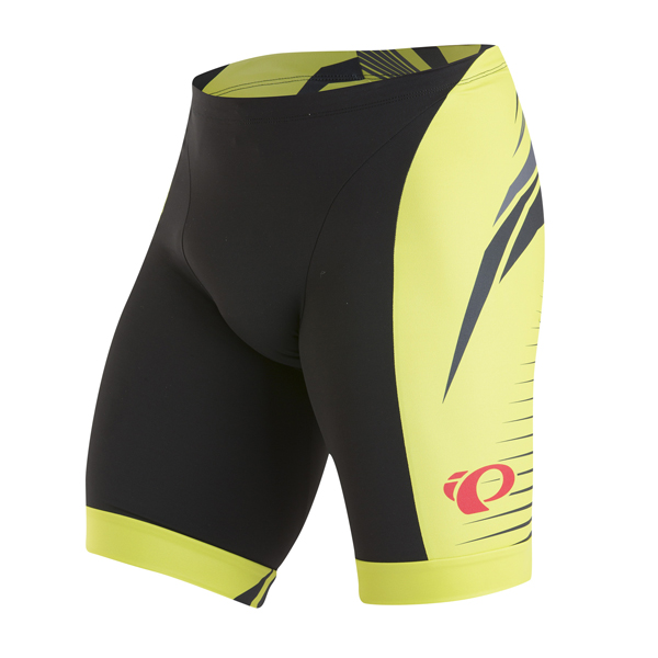 Pearl Izumi Elite In-R-Cool Triathlon Fietsbroek H Geel - L