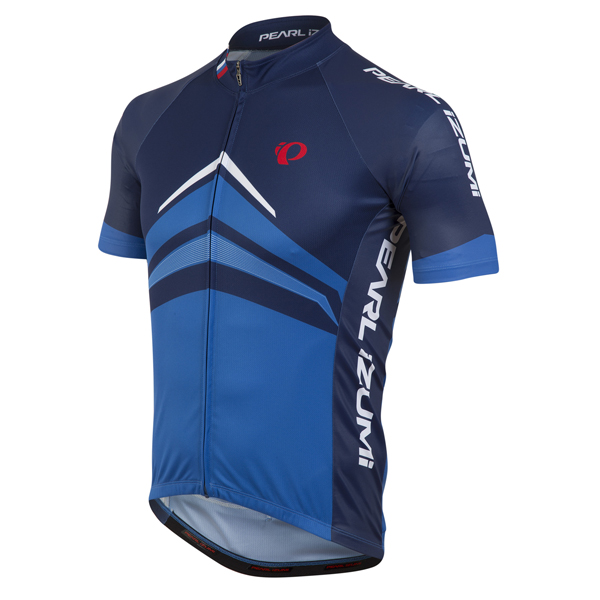 Pearl Izumi Elite Pursuit LTD Fietsshirt KM Blauw - S