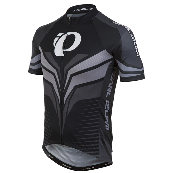 Pearl Izumi Elite Pursuit LTD Fietsshirt KM Grijs - S