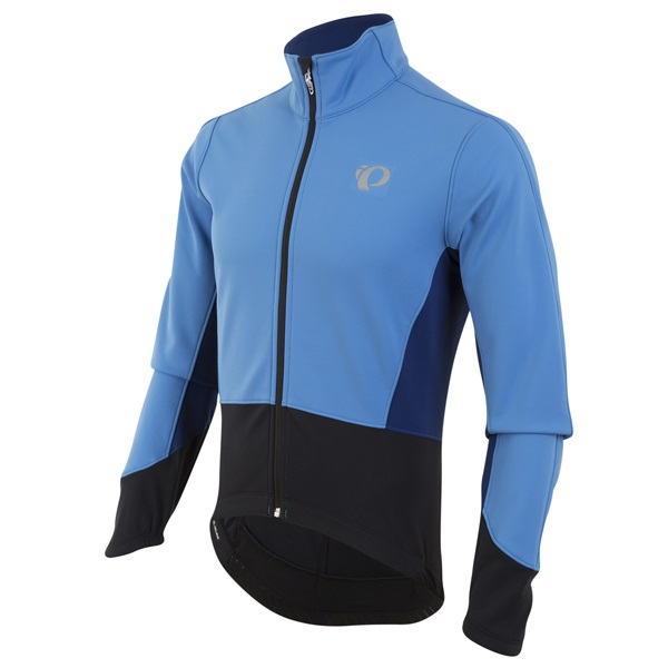 Pearl Izumi Elite Pursuit Softshell Fietsjas Blauw - XL