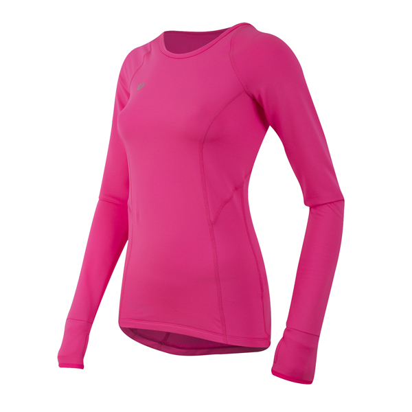 Pearl Izumi Pursuit Thermal Fietsshirt Dames Roze - L