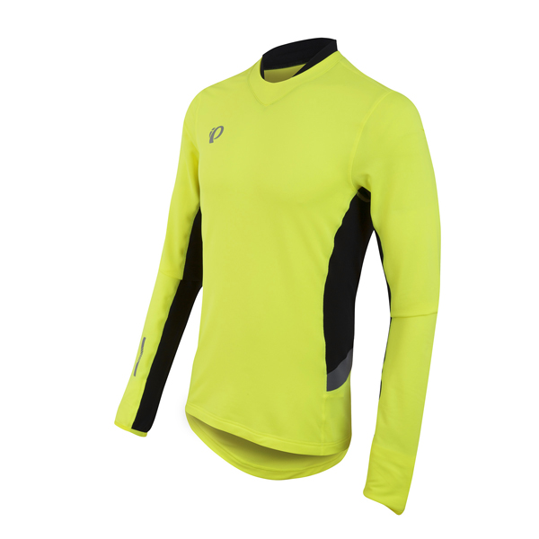 Pearl Izumi Pursuit Thermal Fietsshirt Geel - L