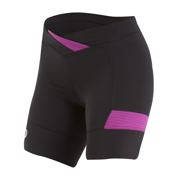 Pearl Izumi Select Escape Fietsbroek Dames Zwart/Paars - XS