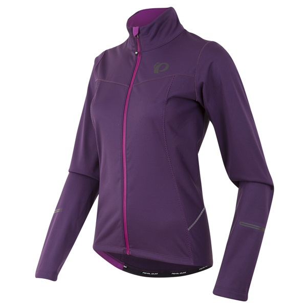 Pearl Izumi Select Escape Softshell Jack Dames Paars - XL