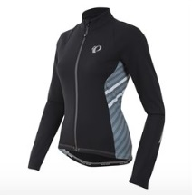 Pearl Izumi Select Pursuit Thermal Fietsshirt Dames Zwart-S