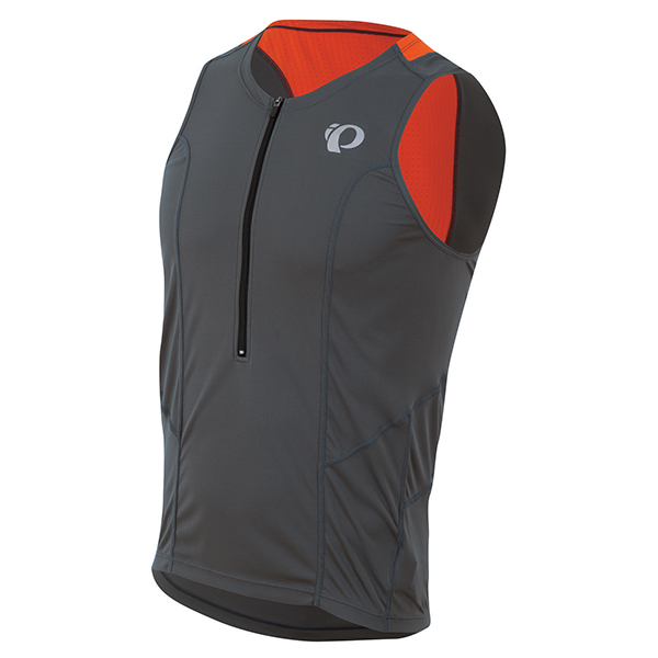 Pearl Izumi Singlet Select Relaxed Grijs/Rood - Maat S