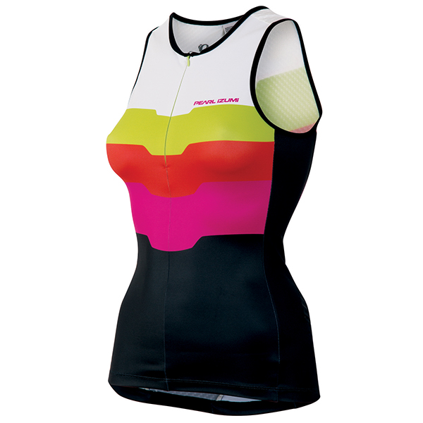 Pearl Izumi Triathlon Top Elite In-R-Cool Ltd Roze - XS
