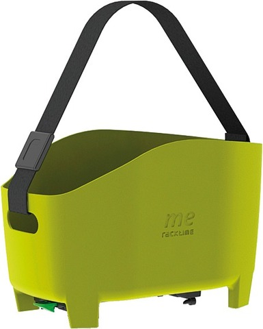 Racktime Mandtas Me 15L Met Snap-It Adapter - Groen