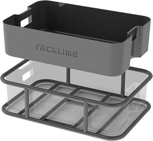 Racktime Transportbox Box-it Snap-it Klein 13.5L - Zwart