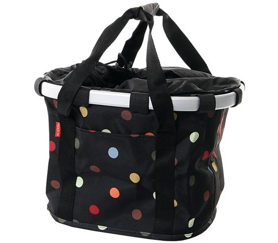 Rixen & Kaul Reisenthel Shopping Bag Bikebasket Dots