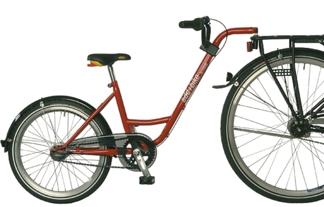 Roland Aanhangfiets Add-Bike 3V 20 Inch Rood