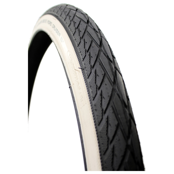Schwalbe Band Delta Cruiser 24x1 3/8 K-Guard - Zwart/Wit