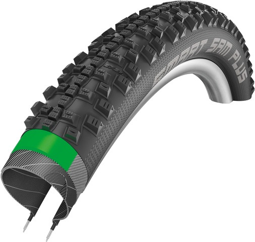 Schwalbe Smart Sam Plus Buitenband 26 x 2.00 - Zwart