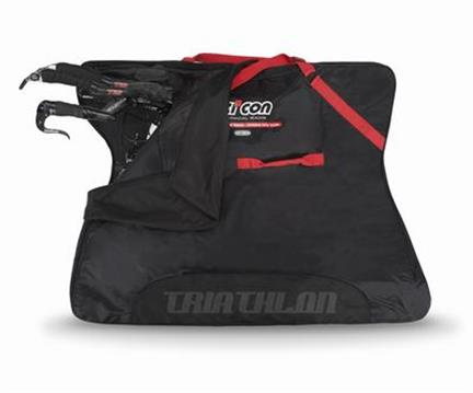 Scicon Fietstas Travel Plus Triathlon - Zwart