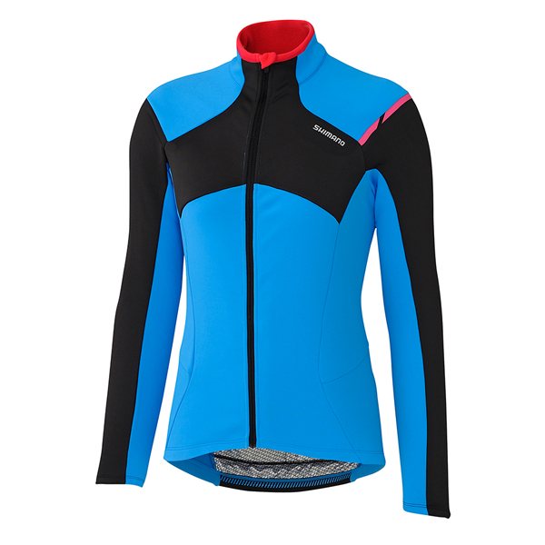 Shimano Dames Shirt Thermal Winter LM Blauw - Maat S
