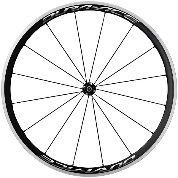 Shimano Dura Ace 9100 Voorwiel 16 Spaaks Carbon 40mm - Zw