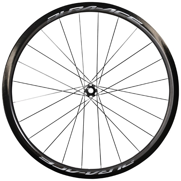 Shimano Dura Ace 9170 Voorwiel 24 Gaats Carbon Tube 40mm CL