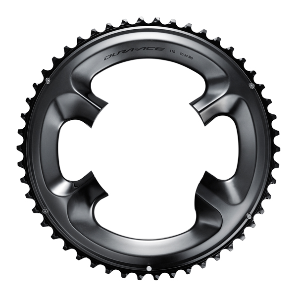 Shimano Dura Ace R9100 Kettingblad 53T 11V Steek 110mm - Zw