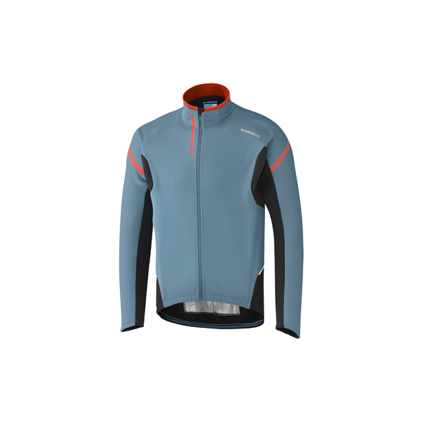 Shimano Performance Windbreak Shirt LM Aegean Blauw - L