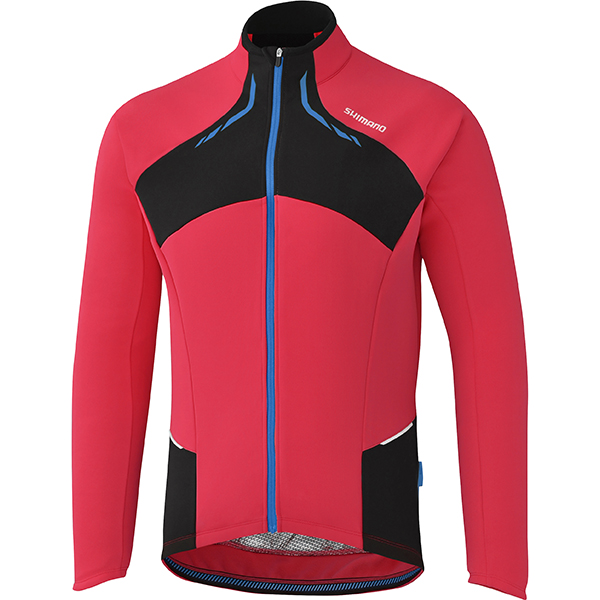 Shimano Shirt Thermal Winter LM Rood - Maat L