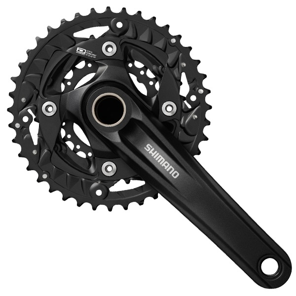 Shimano Tourney 501 Crankset 42/34/24T 170mm 4-Arm 8V