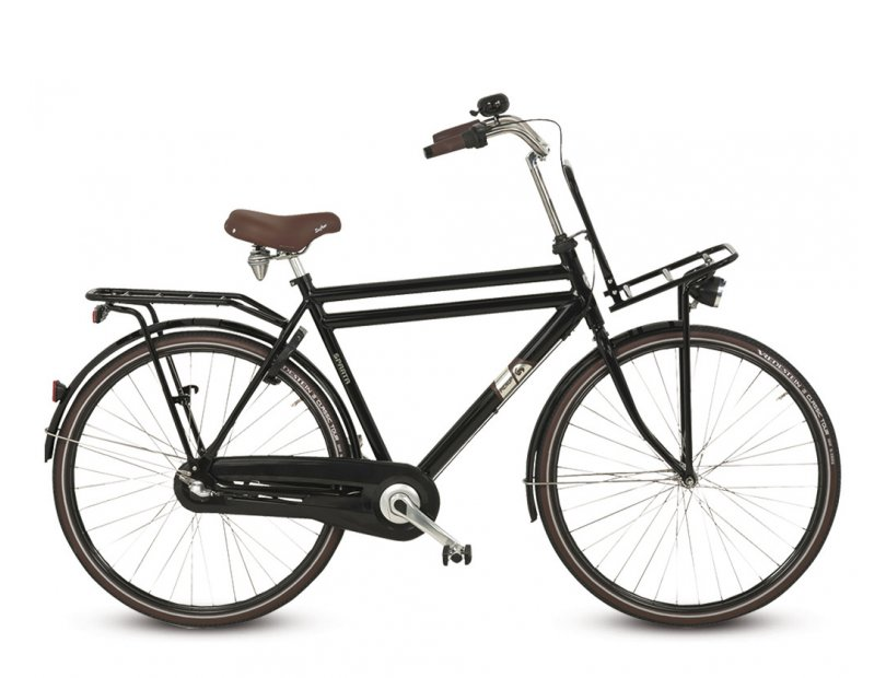 Sparta Pick-Up Plus Herenfiets 49cm 3V - Zwart