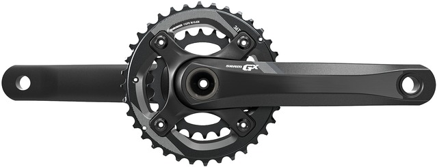 SRAM GX-1400 Crankset GXP 36-24 Tands 170mm 11 Speed - Zwart