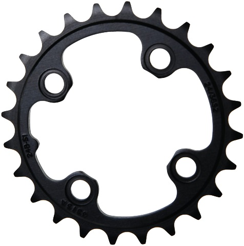 Sram GX Kettingblad 24T 64mm 4-Arm 2x11V - Zwart