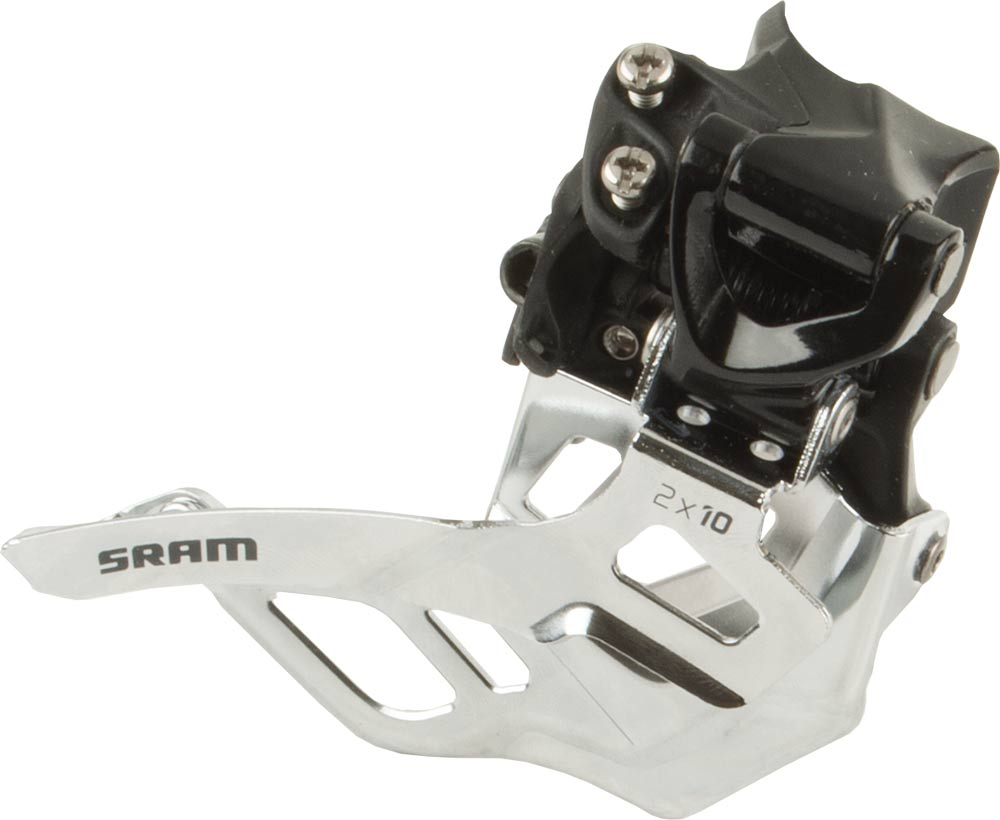Sram Voorderailleur X7 Mid Direct Mount Dual Pull  2x10