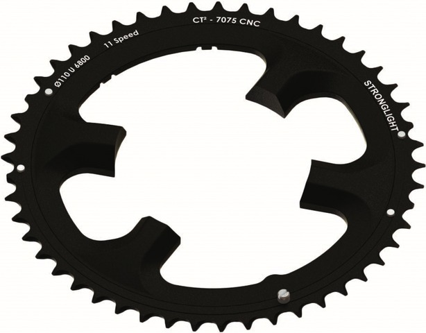 Stronglight Kettingblad CT2 52 Tands Zwart Dura Ace