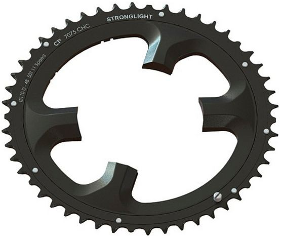 Stronglight Kettingblad E-Shifting CT2 51 Tands Dura Ace